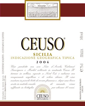 Ceuso 2007 Ceuso lt. 0,75