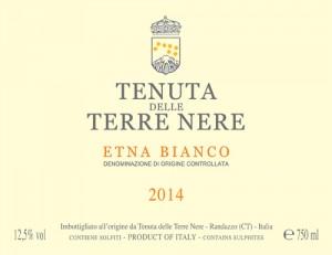 Etna Bianco 2014 Tenuta delle Terre Nere lt.0,75