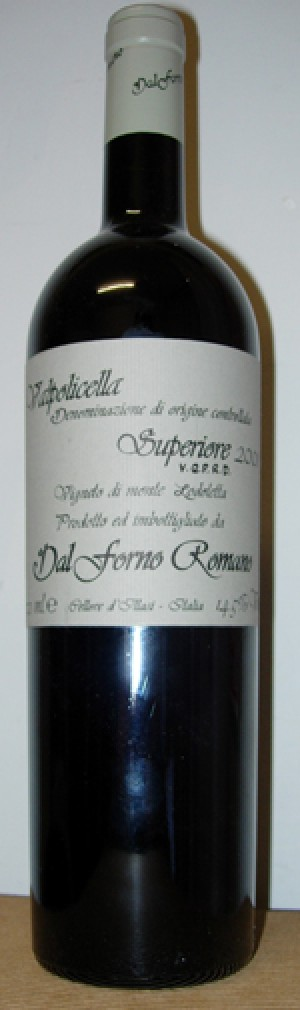 Valpolicella Superiore DOC 2002 Romano Dal Forno lt.0,75